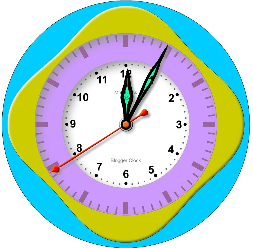 MatsClock 1051 PowerPoint Blogger Clock