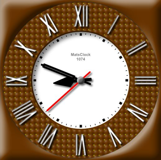 MatsClock 1074 Free Flash Clock