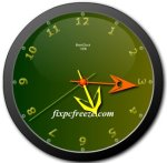 Free Flash Clock MatsClock 1006