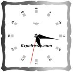 Free Flash Clock Mats Clock 1012 picture