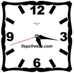 Download MatsClock 1013 Free Flash Clock