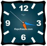 Free Flash Clock MatsClock 1014