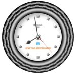 Free Flash Clock Mats Clock 1401 picture