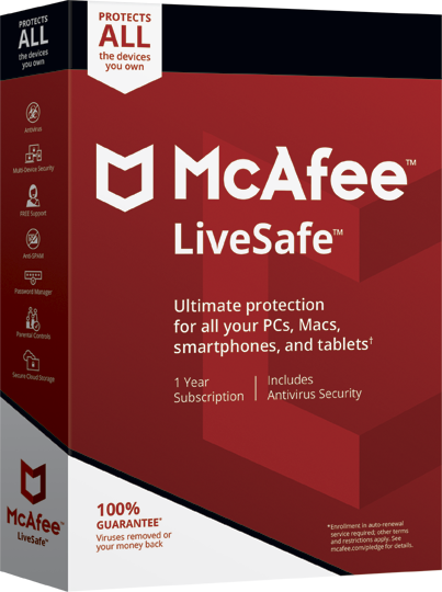 McAfee Live Safe Download